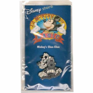 Mickey's Choo-Choo Disney Lapel Pin - Disney 12 Months of Magic