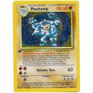 Pokemon Card 1st Edition Machamp Holofoil 8/102 Single Card Rare (PK3)