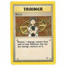 Pokemon Card Brock Gym Heroes Unlimited Holofoil 15/132 Single Card Rare (PK8)