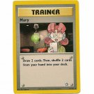 Pokemon Card Mary Neo Genesis Unlimited 87/111 Single Card Rare (PK12)