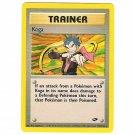 Pokemon Card Koga Gym Challenge Unlimited 106/132 Single Card Rare (PK14)