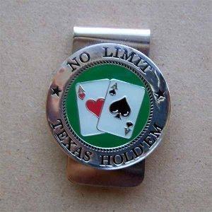 No Limit Texas Hold 'Em Money Clip