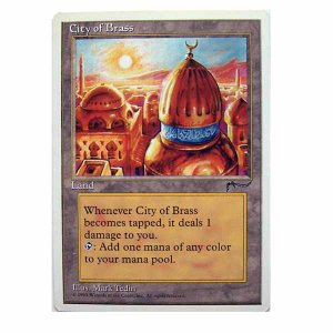 City of Brass - Chronicles - Magic the Gathering Role Playing Single Card (MGT1)