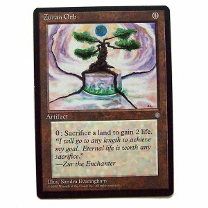 Zuran Orb - Ice Age - Magic the Gathering Role Playing Single Card (MGT2)