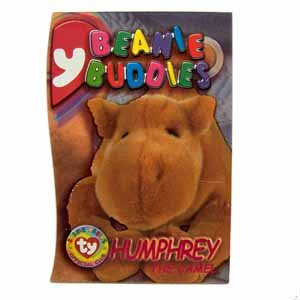 c66c12ba308 Humphrey the Camel Magenta Ty Beanie Buddies Single Card Series 3 (BB1)