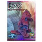 Rex the Tyrannosaurus Blue Retired Ty Beanie Baby Single Card Series 2 (BB11)