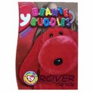 Rover the Dog Beanie Buddies Magenta Ty Beanie Baby Single Card Series 3 (BB16)