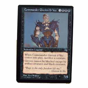 Commander Greven il-Vec - Tempest - Magic the Gathering Role Playing Single Card (MTG33)