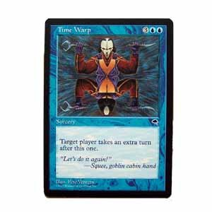 Time Warp - Tempest - Magic the Gathering Role Playing Single Card (MTG64)