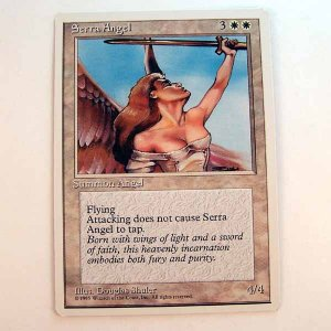 Serra Angel - 4th Edition - Magic the Gathering Role Playing Single Card (MTG81)