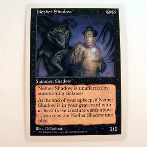 Nether Shadow - 5th Edition - Magic the Gathering Role Playing Single Card (MTG84)
