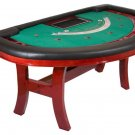 Bravatto Deluxe Edition Black Jack Table - Cherry Finish
