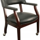 Executive Style Poker Table Chair - Black