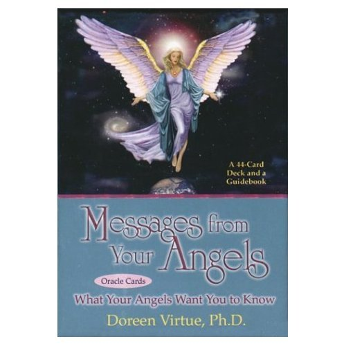 Messages from your Angels 44 Card Oracle and Booklet by Doreen Virtue