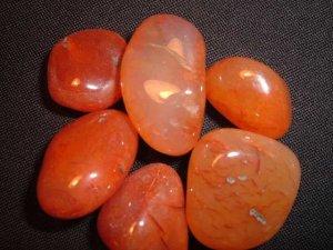 Carnelian Tumbled Stones ~ 1 stone
