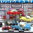 1957 FORD THUNDERBIRD GARAGE W/ 3 CARS & WORKING LIFT++