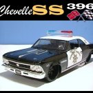 1966 CHEVY CHEVELLE SS 396 COLLECTIBLE POLICE CAR