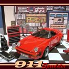 1989 PORSCHE 911 SPEEDSTER GARAGE W/ DIE CAST TOOLS & MORE
