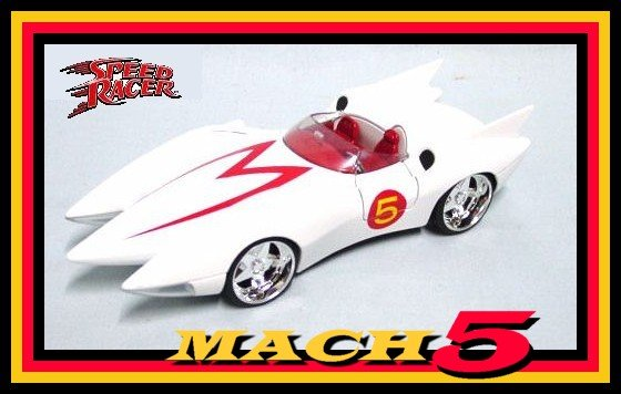 SPEED RACER MOVIE CAR REPLICA COLLECTIBLE +WOW+