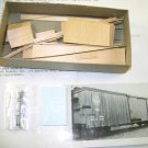 Quality Craft Models  HOn3 Scale  East Broadtop Double Sheathed Box Car Kit  #324|BrassTrainsAndMore