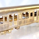 Silver Leaf Rapid Transit Models  HO Brass  Standard Subway Car  Powered|BrassTrainsAndMore