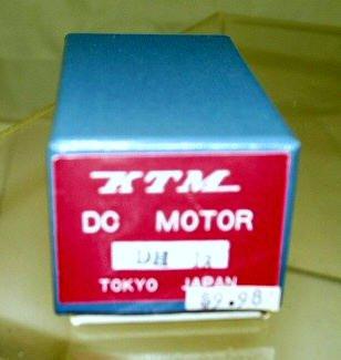 KTM  DC Motor DH-13 With Original Box  Unused|BrassTrainsAndMore
