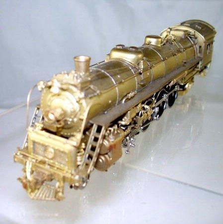 Westside Models Brass HO Scale  B&O  4-8-2 Type T-3a  Mountain Steam Locomotive BrassTrainsAndMore