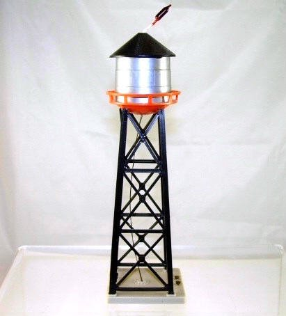 American Flyer  HO Scale  Water Tower w/Light  Old Stock|BrassTrainsAndMore