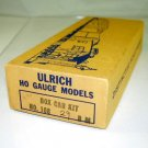 Ulrich Model  HO Scale  MTC  Boxcar Kit #71984W/Early Box|BrassTrainsAndMore