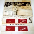 Red Ball  D.L.&W. &quot;Phoebe Snow&quot; Boxcar Kit # 88|BrassTrainsAndMore