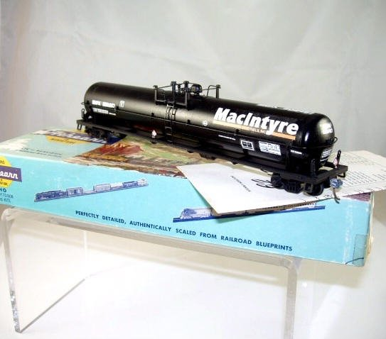 Athearn  HO Scale  62FT. MacIntyre Tank Car# 202487