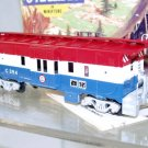 Athearn HO Scale EL Spirit of 76(Custom) 37FT. Bay Window Caboose#C354