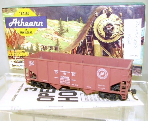 Athearn  HO Scale  D&H  34FT.  Open-Top Hopper#5589