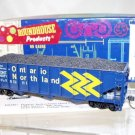 Roundhouse  HO Scale  Ontario Northland  40FT. Open-Top 3-Bay Rib-Side Hopper#ONT6071