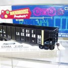 Roundhouse  HO Scale  EL  40FT. Open-Top 3-Bay Rib-Side Hopper#EL32506