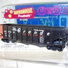 Roundhouse  HO Scale  D&RGW  40FT. Open-Top-Bay Hopper#5217