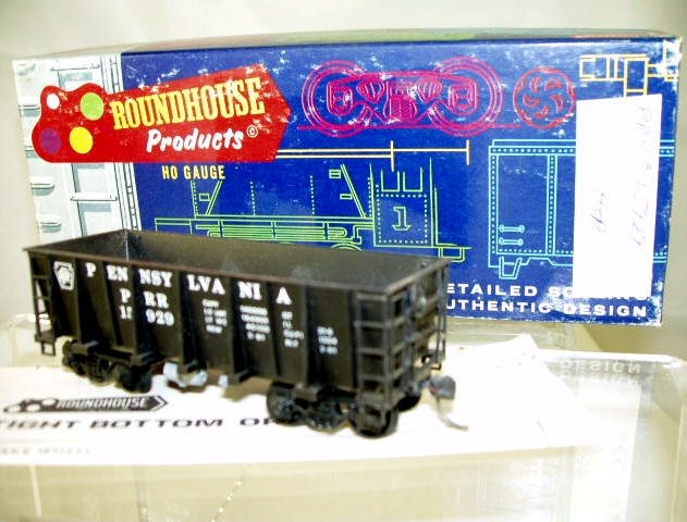 Roundhouse  HO Scale  PRR  26FT. High-Side Ore Car#PRR15829