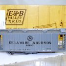 E&B Valley  HO Scale  D&H  39FT.,GACX  Airslide Covered Hopper#12130
