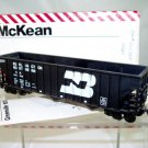 McKean  HO Scale  Burlington Northern  45FT. Open-Top 15-Panel 100-Ton Hopper#BN525388