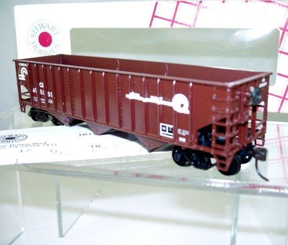 Stewart Hobbies  HO Scale  Conrail  40FT. Open-Top 14-Panel 3-Bay 70-Ton Hopper#CR495059
