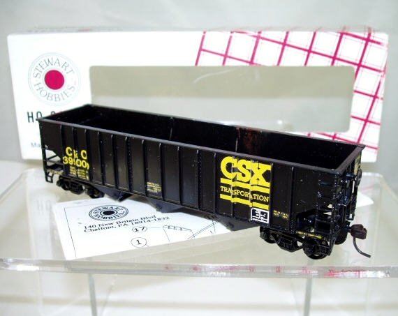 Stewart Hobbies HO Scale  CSX  40FT. Open-Top 14-Panel 3-Bay 70-Ton Hopper#C&O399000
