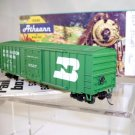 Athearn Bev Bel  HO Scale  Burlington Northern  50Ft. ACF Single-Door Rail-Box#BN376289