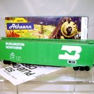 Athearn  HO Scale  Burlington Northern  50Ft. Plug-Door Box Car#BN161542