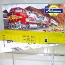 Athearn HO Scale  Green Bay&Western  50 Ft. Fishbelly-Side Gondola#GBW33