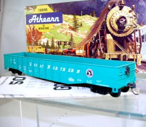 Athearn  HO Scale  Great Northern  50Ft. Open-Top Gondola#GN78965