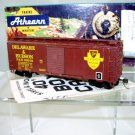 Athearn  HO Scale  Delaware&Hudson  40Ft. Steel Single-Door Box Car#D&H20019