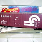 Roundhouse HO Scale  Conrail  50Ft. Hi-Cube Rib-Side Box Car#CR164372