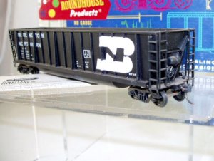 Roundhouse HO Scale  Burlington Northern  50Ft. Bath-Tub Gondola#BN648579
