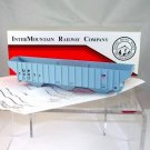 InterMountain HO Scale  Union Pacific  55Ft. PS 3-Bay Covered Hopper Kit#74071