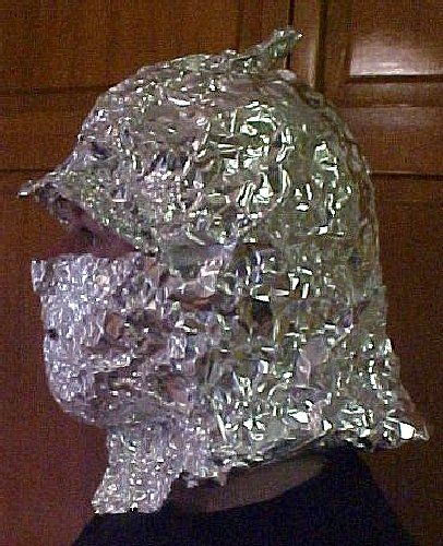 Aluminum Foil Deflector Beanie Kit Protect Yourself Mind Control Brain Washing